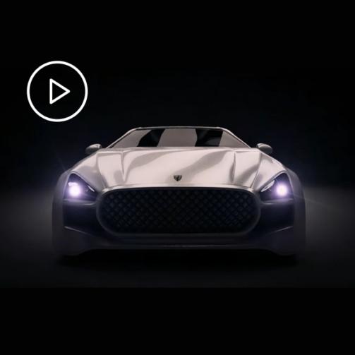 animacja 3D samochodu 2